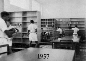 Library in 1957