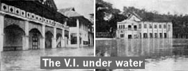 The V.I. under water